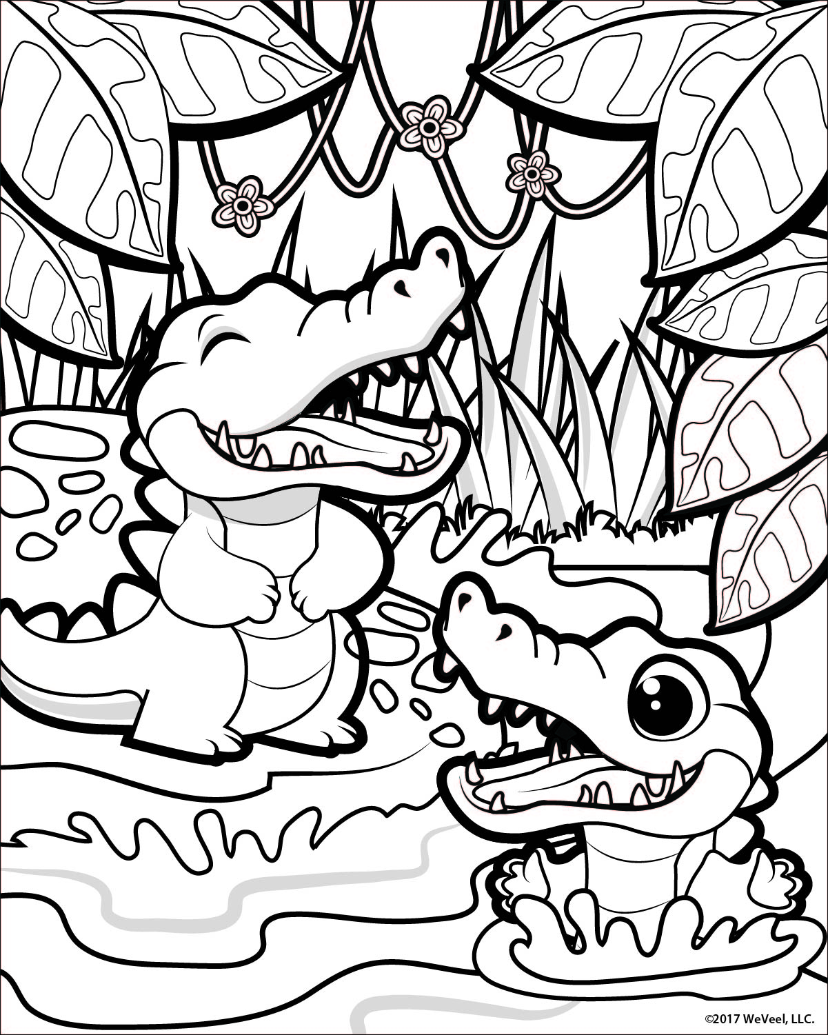 Coloring Pages: Jungle