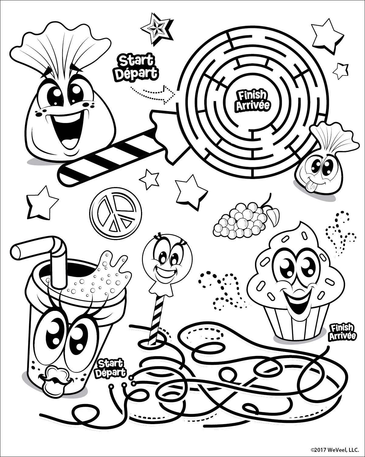 Coloring Pages: Activity Pages