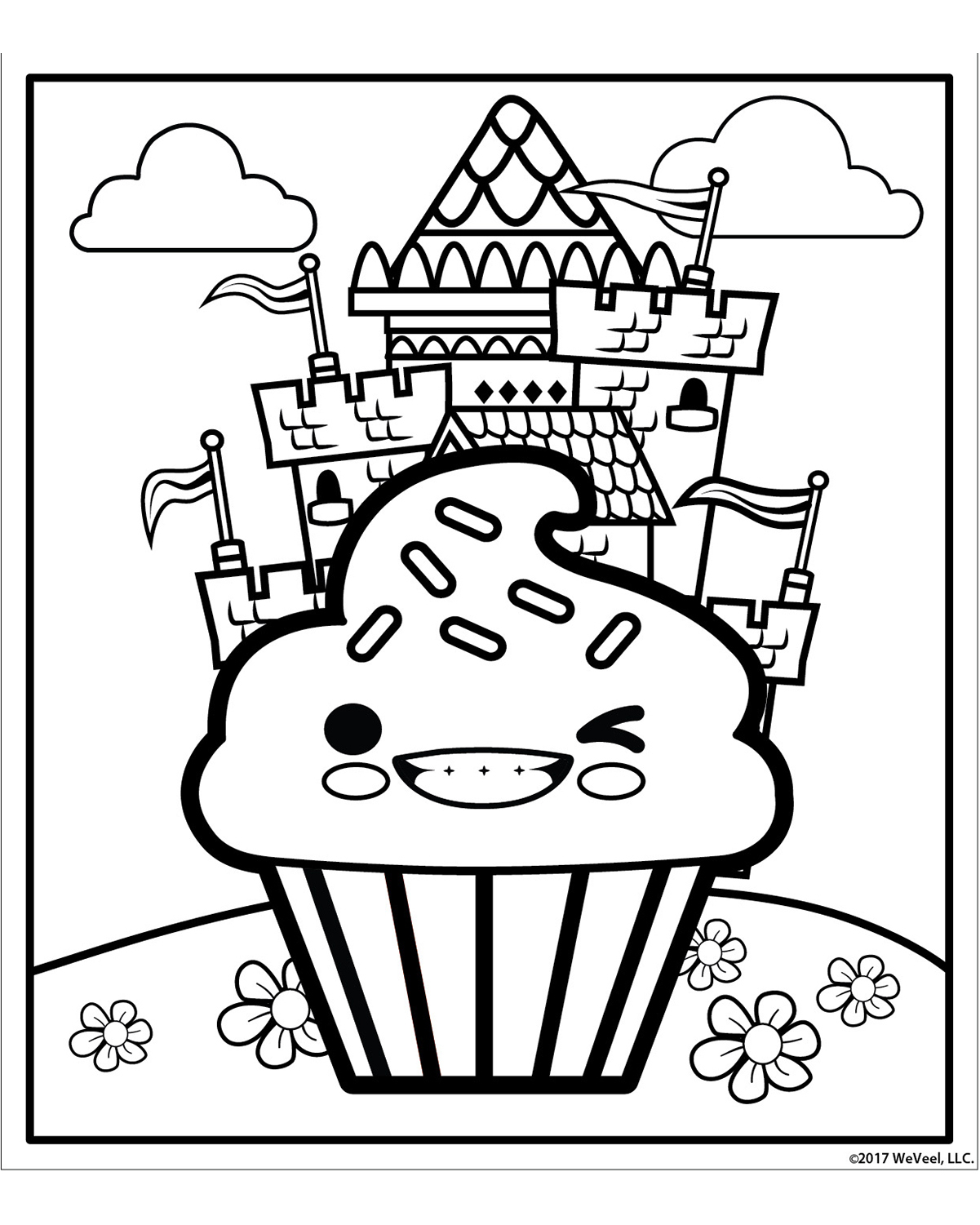sugar rush coloring pages - photo#1