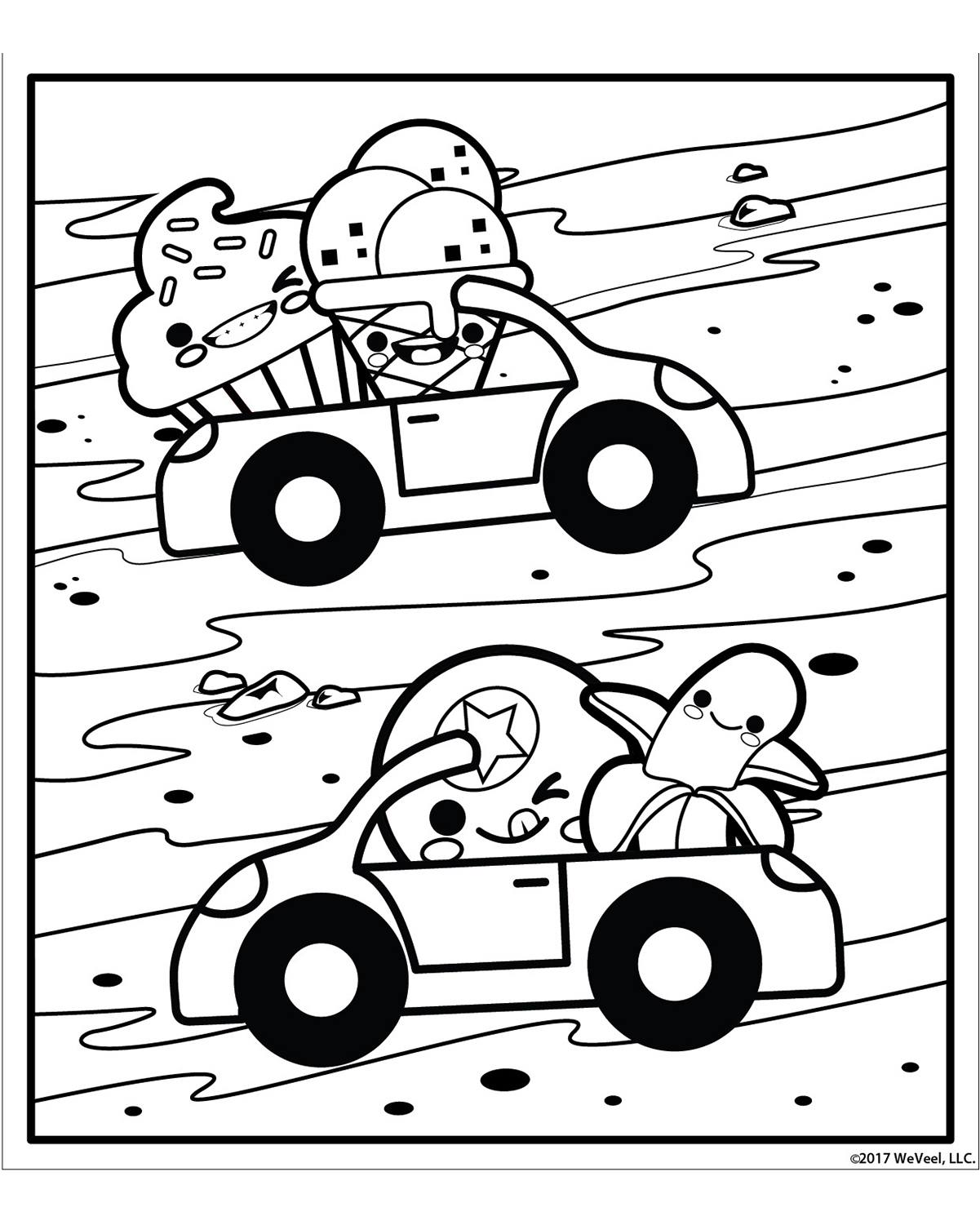 sugar rush coloring pages - photo#12